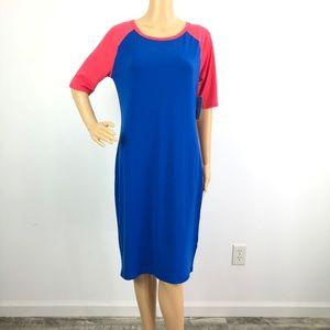 LuLaRoe Julia Dress Women's Size Medium (8-10) NWT